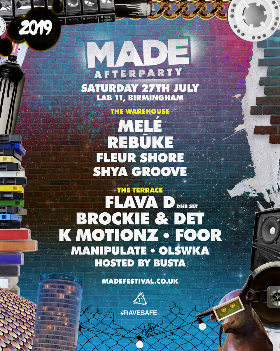 MADE FESTIVAL 2019 confirms MASSIVE AFTER PARTY!