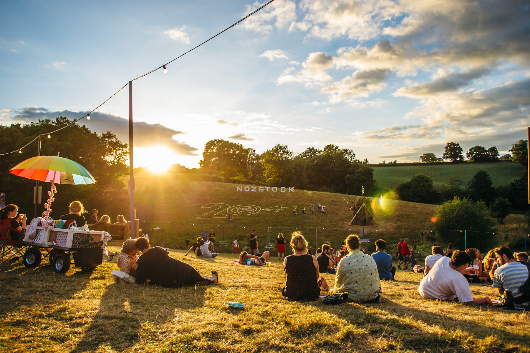 Nozstock 2019 - the family-run festival is back next weekend for its 21st year! Credit@ChloeKnott