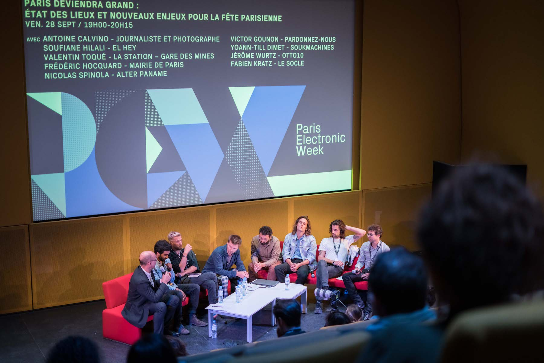 PARIS ELECTRONIC WEEK 2019 adds Key Panels and Speakers for this year's edition! Credit @Max Pillet
