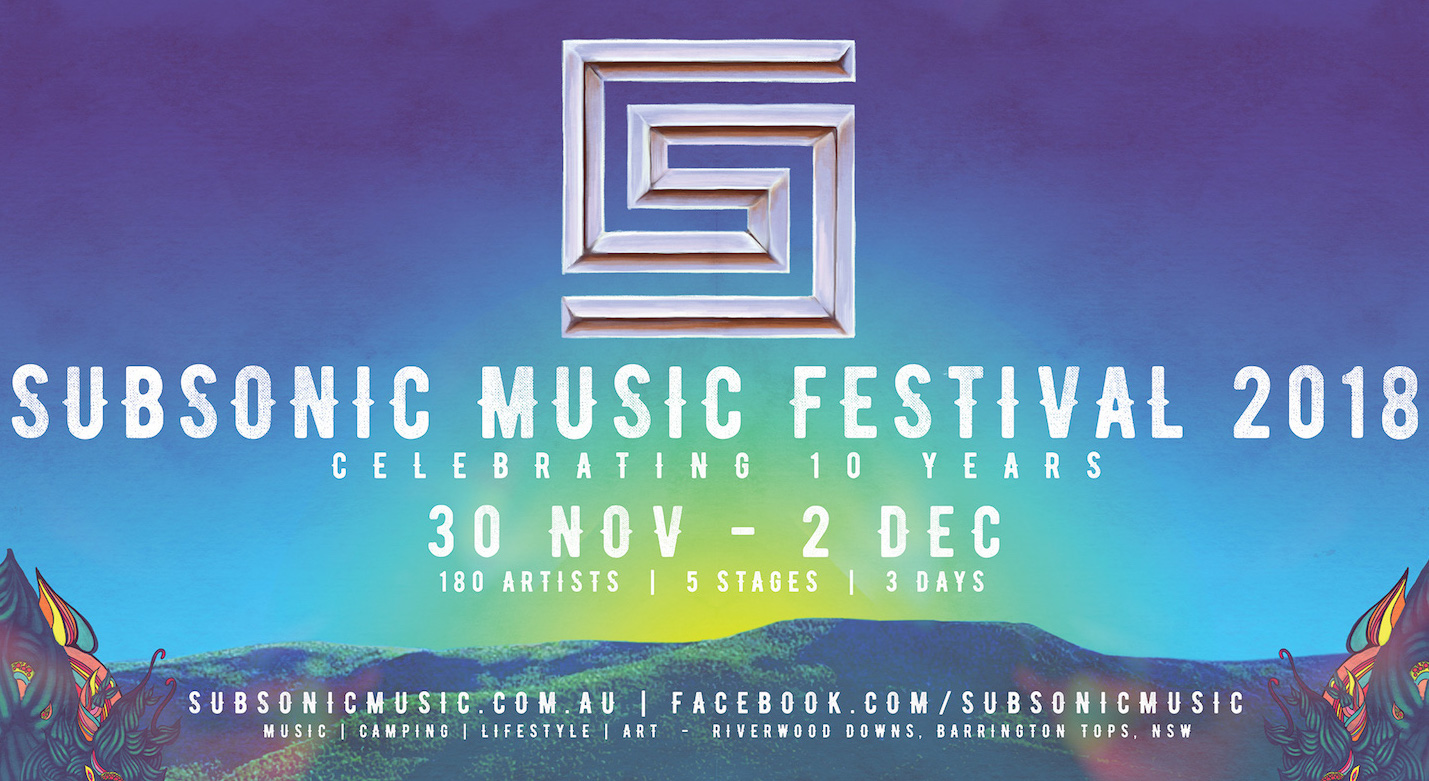 SUBSONIC MUSIC FESTIVAL 2018 announces SUSTAINABILITY INITIATIVES!