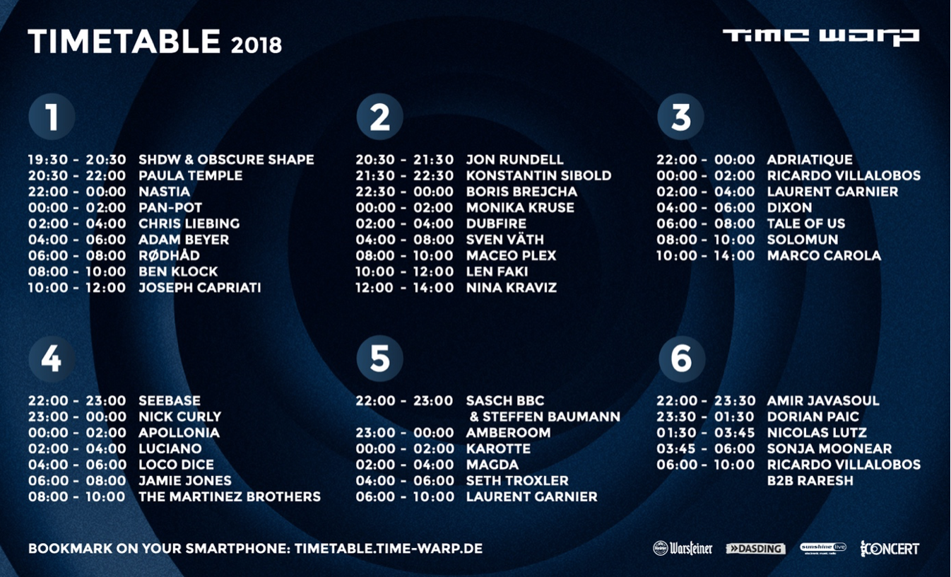 Time warp mannheim 2020 dates